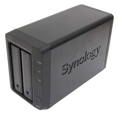 Synology DiskStation DS715 2-Bay NAS Enclosure Network Attached Storage NEW • 299.95£