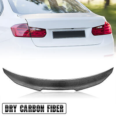 $189.90 • Buy Real Carbon Fiber Trunk Spoiler Wing For BMW 13-20 F32 4-Series 428i 435i Coupe