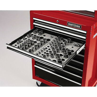 View Details Craftsman Wrench Socket Organizer Set 6-Tray Divider Holds 195 Storage Toolbox • 32.95$