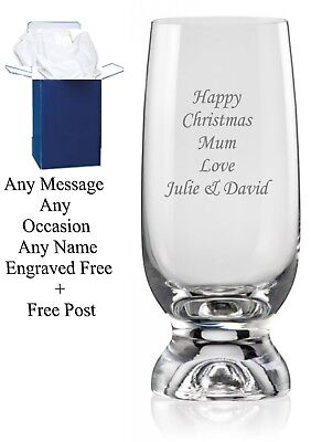 Personalised Engraved Highball Glass Birthday Gifts, 65th, 70th, 80th Birthday • 9.99£