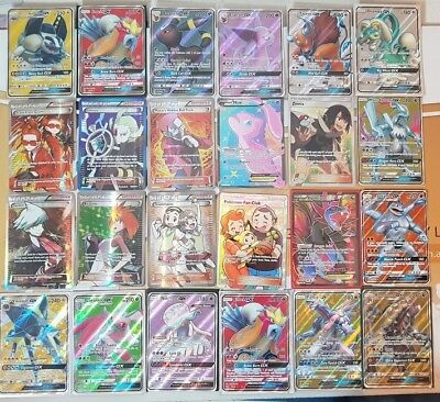 AU24.95 • Buy Pokemon Cards 50 Bulk Lot Guaranteed FULL ART GX/EX + 9 Rare/shiny Great Gift