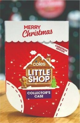 $34 • Buy Coles Little Shop Collector's Case X 1 Christmas Edition Mini Kids Collectables
