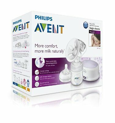 AU197.32 • Buy Philips AVENT Baby NATURAL COMFORT Electric Breast Pump SCF332/01 Electronic NEW