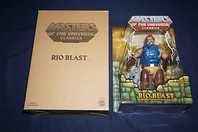 $44.99 • Buy Motu Masters Of The Universe Classics Rio Blast Mattel 2015 Action Figure He-man