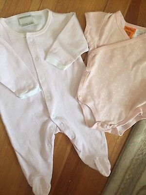 AU11 • Buy Marquise & Baby Patch Girls One Piece And Body Suit Basics Size 0-3 M Exc Con