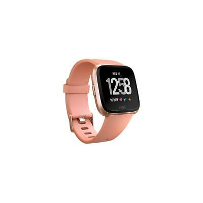 $ CDN172.01 • Buy Fitbit Versa Fitness Watch, Peach/Rose Gold Aluminum #FB504RGPK
