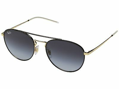 ff1bdacb8ed Ray Ban Highstreet Sunglasses RB3589 90548G 55 Black Gold Grey Gradient  Lens • 64.99
