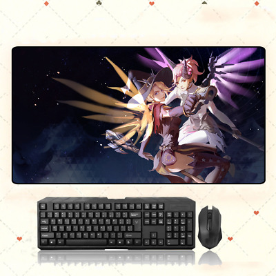 AU33.49 • Buy GAME Overwatch Mercy Extra Large Mouse Pad Free Shipping(32''X16'')