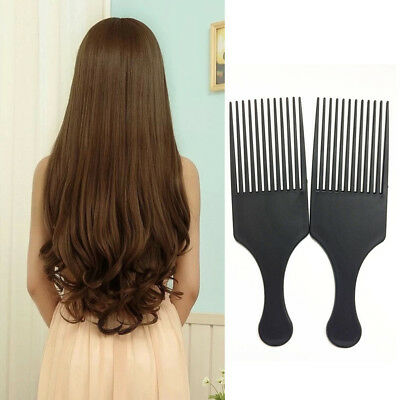 £1.86 • Buy Afro Comb Curly Hair Brush Salon Hairdressing Styling Long Tooth Styling Pick