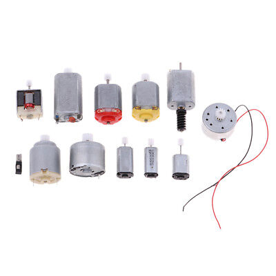 £8.32 • Buy 12Pcs Miniature Motor For 4WD Electric RC Car Helicopter Boat Model DIY Toys