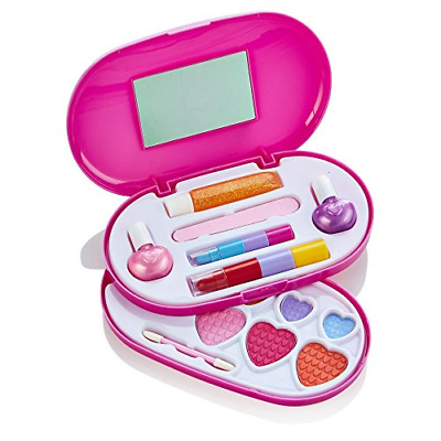 Little Fairy Princess 2 Tier Make-up Set - Cosmetic Makeup Kit For Young Girls • 12.96£