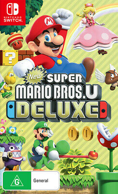 AU74.95 • Buy New Super Mario Bros U Deluxe Switch Game NEW