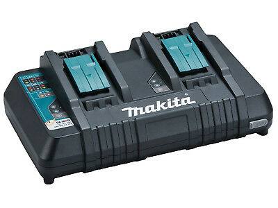 Makita Twin-port Fast Charger - Dc18rd/1 - 110v • 132£