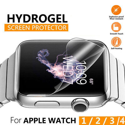$ CDN1.64 • Buy 5pcs Watch Screen Protector Film For Apple Watch Series 4 3 2 1 38 42mm 40 44mm