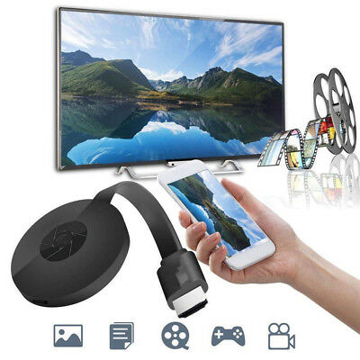 $17.69 • Buy WiFi Wireless HDMI Display Dongle TV AV Adapter Miracast DLNA Airplay Receiver