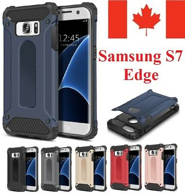 $ CDN6.95 • Buy For Samsung Galaxy S7 Edge Case - Heavy Duty Hybrid Shockproof Armor Cover