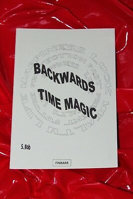 £35 • Buy BACKWARDS TIME MAGIC Finbarr Book Mind Power Occult Spells Grimoire Witchcraft