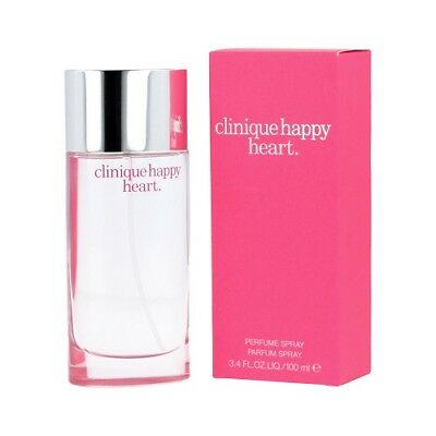 Clinique Happy Heart 100ml Perfume Spray Brand New & Sealed • 33.90£