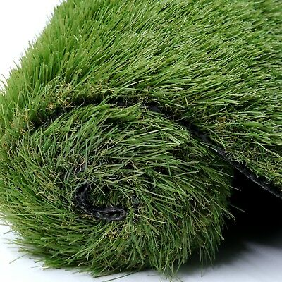 £0.99 • Buy Artificial Grass Aspen 40mm Top Quality Realistic Fake Lawn Astro Turf 2/3/4/5m