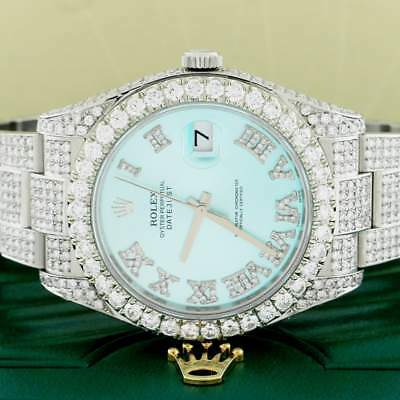 $ CDN22267.77 • Buy Rolex Datejust II 41MM Oyster 116300 W/14.1Ct Diamond Dial, Bezel & Bracelet