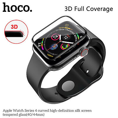 $ CDN13.52 • Buy HOCO 3D Coverage Protector For Apple Watch Series 5 4 Clear Tempered Glass Film
