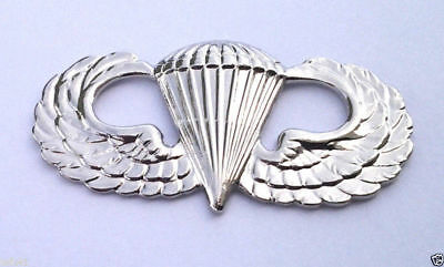 $8.98 • Buy US ARMY PARATROOPER AIRBORNE WINGS (1-1/2 ) SILVER Military Hat Pin 16317 HO