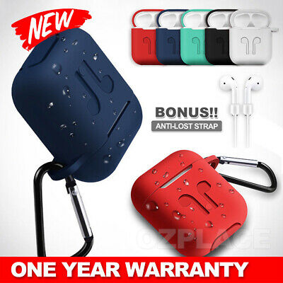 AU5.95 • Buy Shockproof For Airpods Case Cover Skin Anti Lost Strap Holder Airpod Case