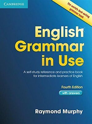 £12.90 • Buy English Grammar In Use Book With Answers: A By Raymond Murphy Without Audio CD