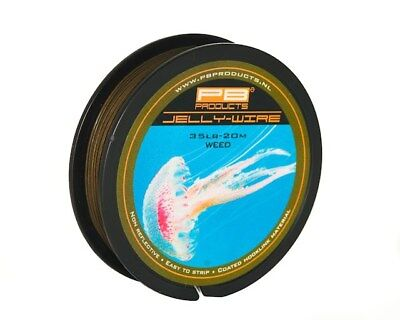 £13.99 • Buy PB Products Jelly Wire 15Lb Silt 20M