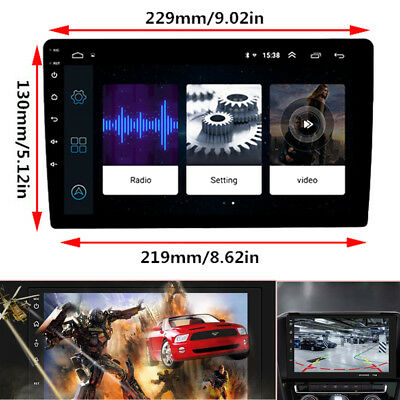 AU230.68 • Buy 9  In-Dash Car GPS Wifi Android 8.0 2Din Stereo Radio Player Octa-Core Head Unit