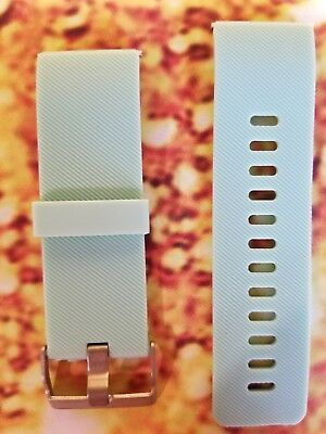 $ CDN5.26 • Buy Replacement Digital Watch Band Fitbit Blaze Small Silicone Rubber Wrist Seafoam