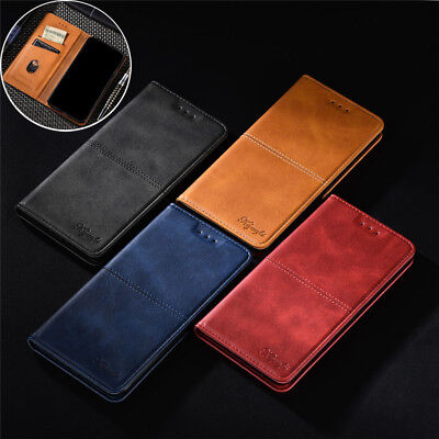 AU7.70 • Buy For OnePlus 9 Pro 7T Pro 6T 6 5T Luxury Magnetic Leather Flip Wallet Case Cover