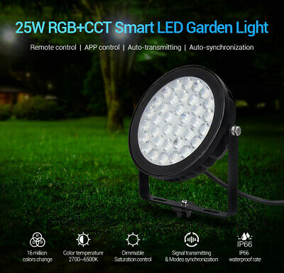 RGB+CCT Outdoor Garden Colour Changing LED  Spike Wall Remote Mi-light Milight • 29.99£