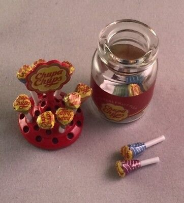 Dolls House Miniature 1/12th Scale Jar Of Lolly Pops For Your Sweet Shop Display • 10.99£