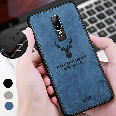 AU4.81 • Buy For One Plus 8 7T 7 Pro 6T 6 5T 5 Deer Hybrid Soft Leather Case Matte Back Cover