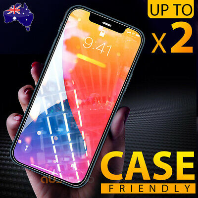 AU4.35 • Buy Tempered Glass Screen Protector For Apple IPhone 11 Pro XS Max XR 8 7 6S Plus 5S