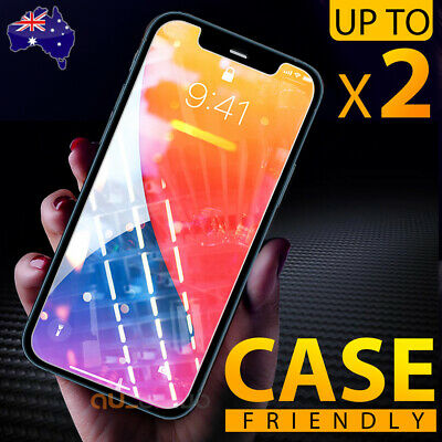 AU3.99 • Buy Tempered Glass Screen Protector For Apple IPhone 12 Mini 11 Pro XS Max XR 8 Plus