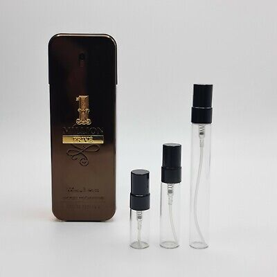 AU28 • Buy ONE 1 MILLION PRIVE By Paco Rabanne -EDP: 2ml - 5ml - 10ml Sample Spray Atomiser