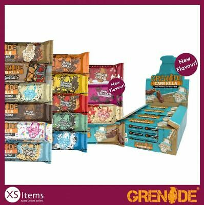 View Details Grenade Carb Killa High Protein Low Carb Sugar Bar Pack 12x 60g Variety Flavours • 17.49£