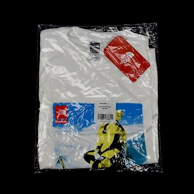 $ CDN180.22 • Buy NWT Supreme The North Face Mens White Photo Box Logo T-Shirt FW18 L DS AUTHENTIC