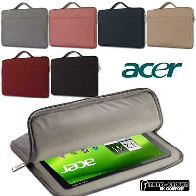 For Various Acer Iconia Tablet ShockProof Carrying Laptop Sleeve Pouch Case Bag • 8.99£