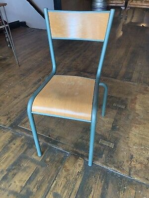 £48 • Buy Vintage Industrial French School Chairs