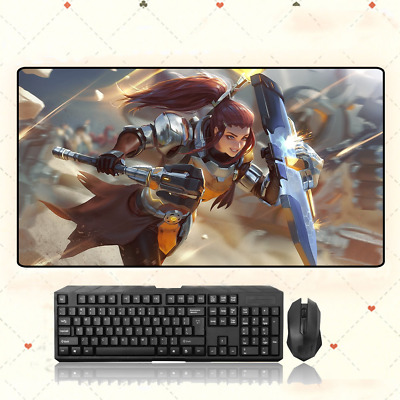 AU28.42 • Buy GAME Overwatch Brigitte Extra Large Mouse Pad Free Shipping(32'' * 16'')