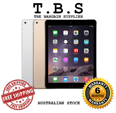 AU389 • Buy Apple IPad Air 2 WiFi & WiFi + Cellular 16GB 32GB 64GB 128GB AU STOCK + Warranty