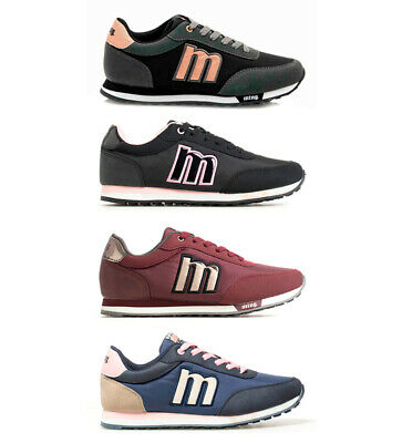 677afaaebef Mustang - Sneakers Funner Donna Tessuto Sintetico Basso Stringhe Casual •  24.95€