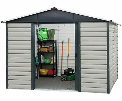 Yardmaster Extra Tall Metal Shiplap Shed - 10 X 12ft • 500£
