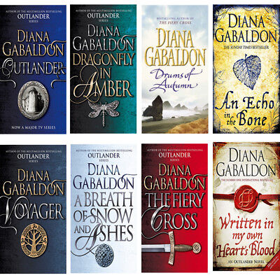 AU86.20 • Buy Diana Gabaldon Collection 8 Books Outlander Series Dragonfly Inamber Voyager NEW