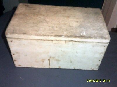 $ CDN43.35 • Buy Small Old Primative Wooden Box