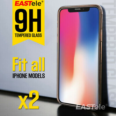 AU3.29 • Buy 2x EASTele For Apple IPhone 11 Pro XS Max XR SE Tempered Glass Screen Protector