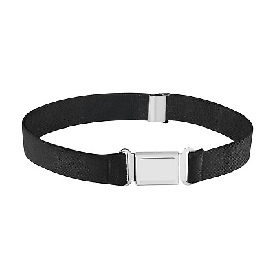 $7.99 • Buy Buyless Fashion Kids Boys Adjustable Elastic Stretch Belt With Magnetic Buckle